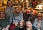 A group of older adult artisans